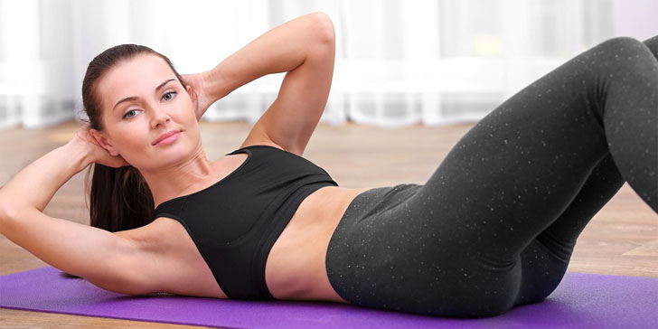 Lose Weight Around Your Waist At Home With These Super Effective Exercises