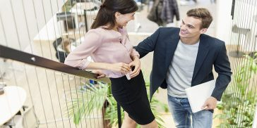 Exactly How To Tell If A Guy Likes You At Work: 16 Giveaway Signs